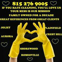 The best cleaning in Plainfield and West Burbs Joliet, 60586
