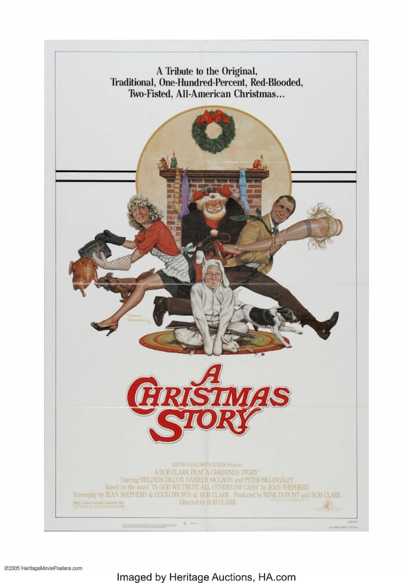 Movie poster: A Christmas Story 0