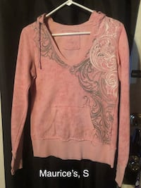 Women's pink and gray sweater Seale, 36875