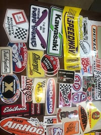 Auto related stickers. Message for prices  Stockton, 95203