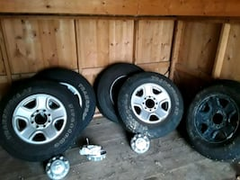 Ram 2500 factor tires and trims full size spare