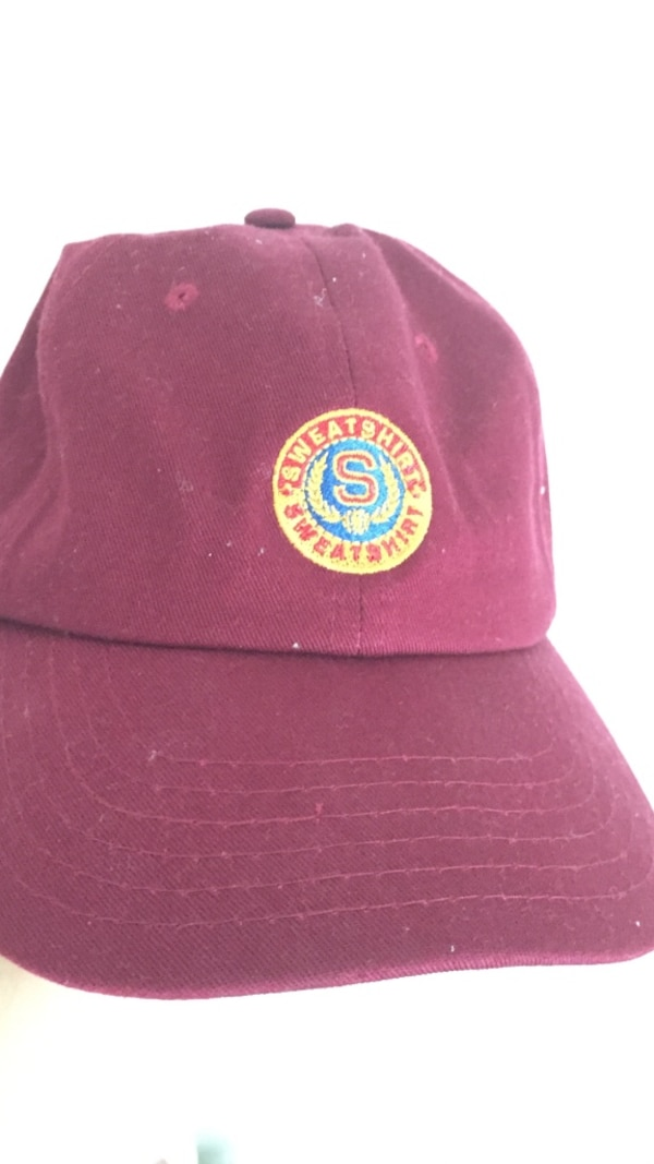 Used Earl Sweatshirt Dad Hat (Maroon) for sale in Hadley - letgo b737385e75a
