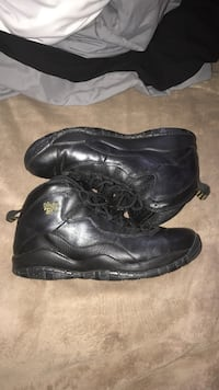 pair of black leather boots Citrus Heights, 95610