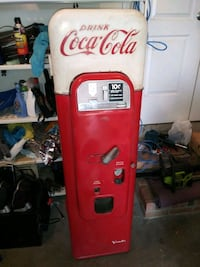 1957 Coke machine vendo 44 Gastonia