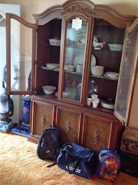 Brown wooden China cabinet Pensacola, 32506