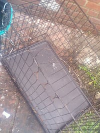 black metal folding dog crate Hyattsville, 20781