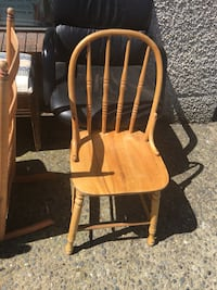 brown wooden windsor chair 邓肯, V9L