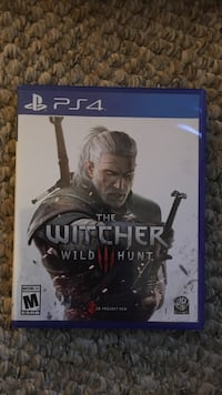 Sony PS4 The Witcher Wild Hunt game case Glens Falls, 12801