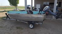 Nice 12' BOAT WITH TRAILER. MOVING NEED GONE!!! Modesto, 95355