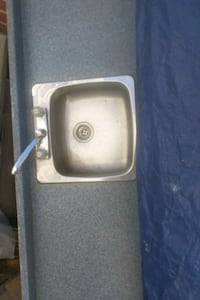 Single kitchen sink  faucet  is extra 20.00 Toronto, M3N 1E7