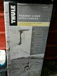 Thule Roadway 2 bike hitch carrier box