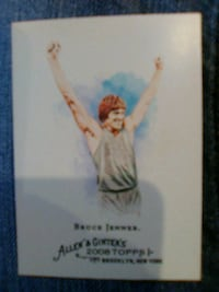 Bruce Jenner Collectors Card Lake Charles, 70607