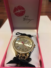 Betsey Johnson watch,  tags attached still