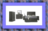 11pc Kate bedroom set free mattress and delivery Temple Hills