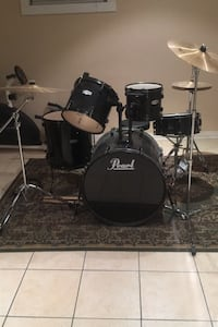 PEARL DRUM KIT 10pc