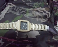 square silver analog watch with link bracelet Grande Prairie, T8V 5W9