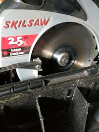 SKIL SAW 2.5HP WITH OWN CARRYING CASE $50.00 OBO