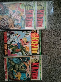 Double 111, 13th issues of Ka-Zar  Portland, 97236