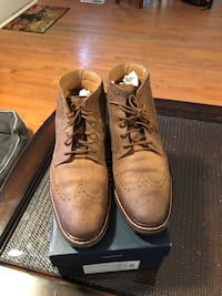 Cole Haan Williams boot size 10 , but to large for me more like a 10 1/2 or 11 in men's 43 km