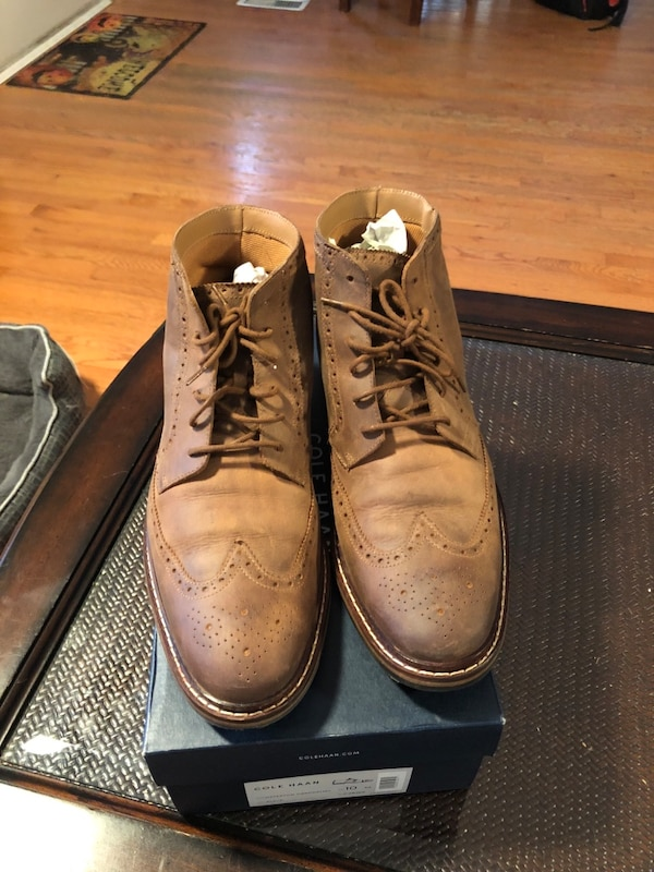 Cole Haan Williams boot size 11 shoe says 10 but fits larger you can try for yourself