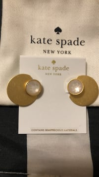 Just Reduced Kate Spade Cream Ear Jacket Earrings Mississauga, L4Z 1H7