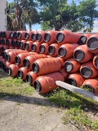200 DRUMS 55 Gallons Red with lids 200 BARRILES 55 GAL1S DE COLOR ROJO CON DOBLE TAPA Miami Lakes, 33018