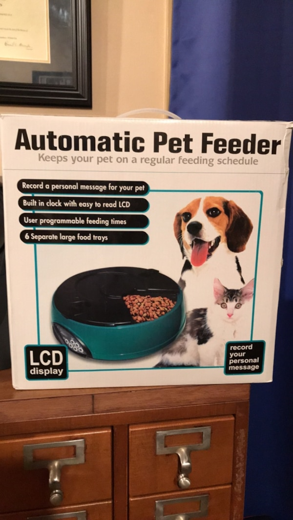 Automatic Pet Feeder 051867ac-56e7-413e-9171-069e8c371e22