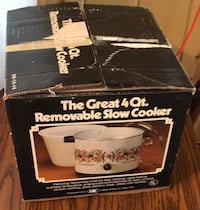 the great 4 quart removable slow cooker Elkton, 21921