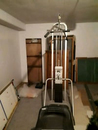 Weight lifting machine (as is). Partly taken apart already for easier Beaconsfield, H9W 4J7