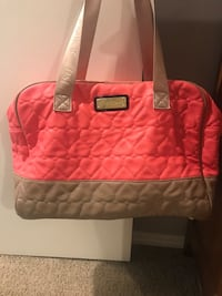 Betsey Johnson weekender bag
