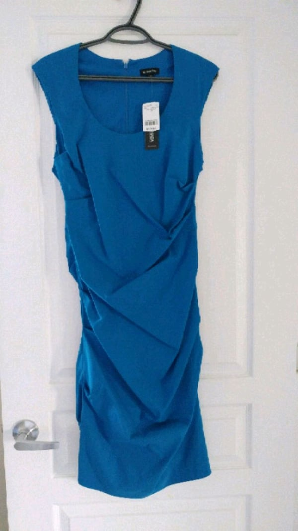 Blue dress never worn, nwt ddfbd446-6edf-4ae8-9a3b-cad611574cfe