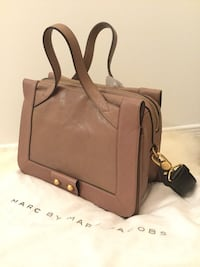 Brand new Marc by Marc Jacobs dusty pink leather hand bag $649 Mississauga, L5B