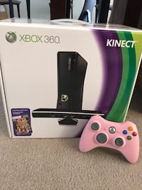 Xbox 360 Kinect 4GB plus two controllers, chargers, and game Hillsborough, 08844