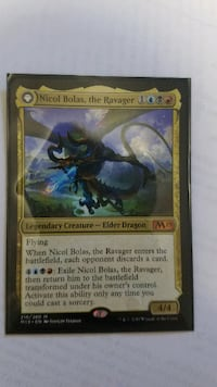 Nicol Bolas, the Ravager PISCATAWAY