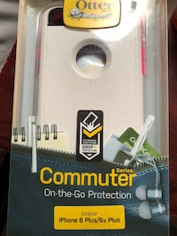 white OtterBox iPhone case pack