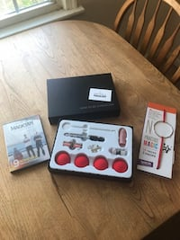 NEW Kids Magic Kit includes Props, 2 DVDs & Book of Tricks