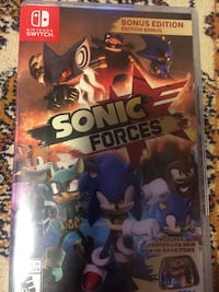 Nintendo Switch Sonic Forces case Montréal, H1E