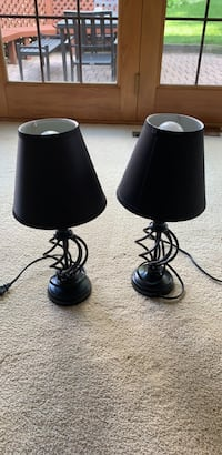 Matching Lamps - black