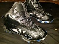 pair of black-and-gray Nike basketball shoes Modesto, 95351