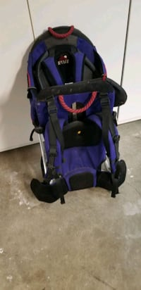 Hiking baby carrier backpack