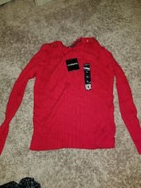 Liz Claiborne Red Sweater