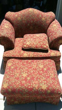 brown and red floral sofa chair Santee, 92071