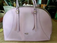 Guess Luxe Dome satchel  Newmarket