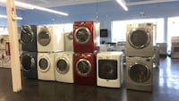 Washers and dryers with warranty  Toronto, M3J 3K7