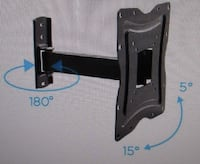 "New in Box Tilt Swivel TV Wall Mount for up to 50"" TV Greenville"