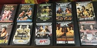 UFC DVD used but in excellent condition 10 DVD Toronto, M6H 3S4