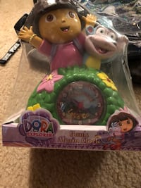 Dora bank and clock