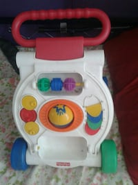 Walker didattico Fisher-Price bianco e multicolore