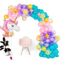 Shimmer & Confetti 16ft Unicorn Balloon Arch and Garland Kit Toronto