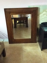brown wooden framed wall mirror Orlando, 32809